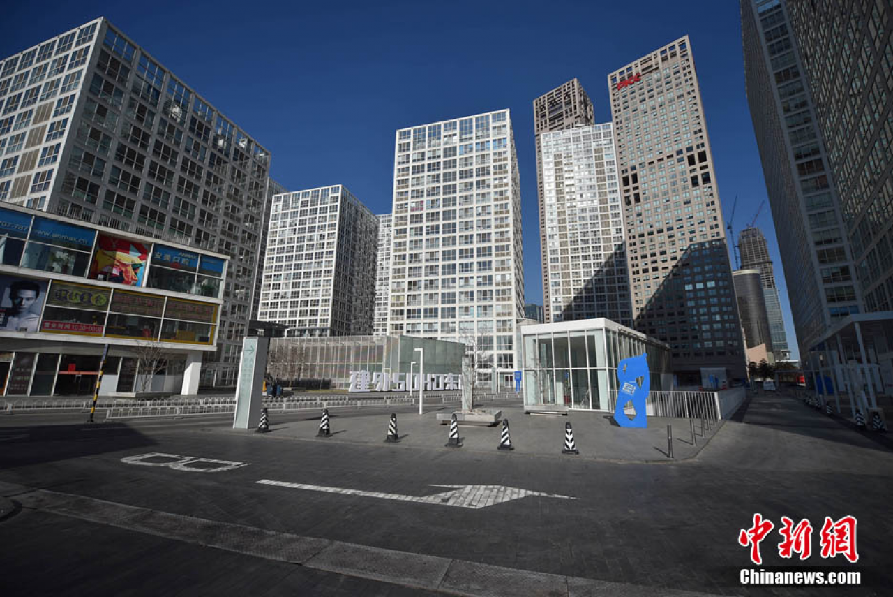 Beijing becomes ghost town during New Year