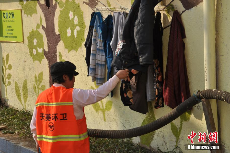 Kindness Wall in Zhumadian, Henan province.