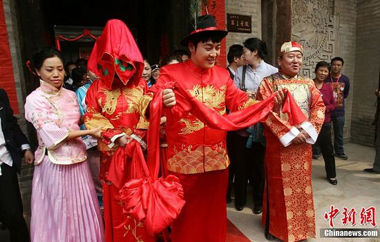 Caili a huge burden for grooms in China