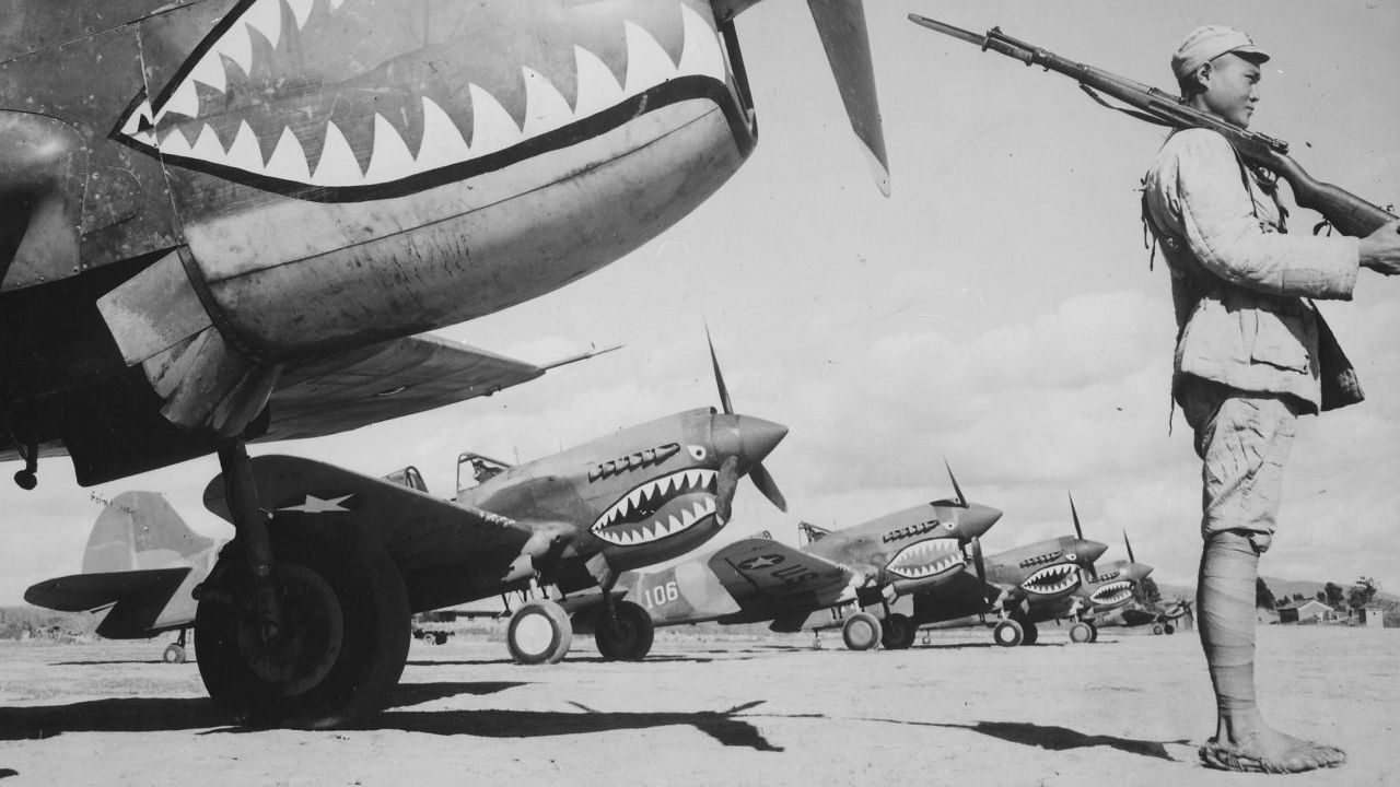 The history of the Flying Tigers