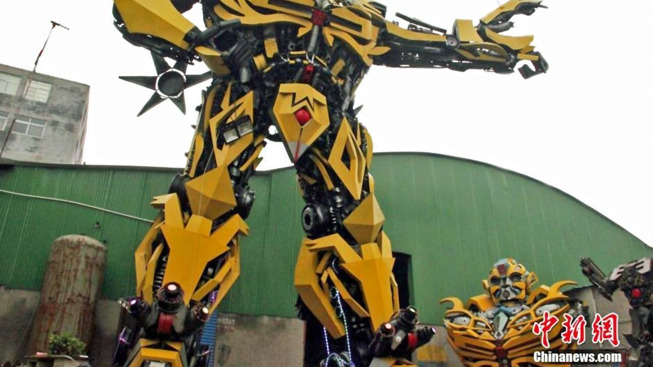 China's growing army of DIY Transformers
