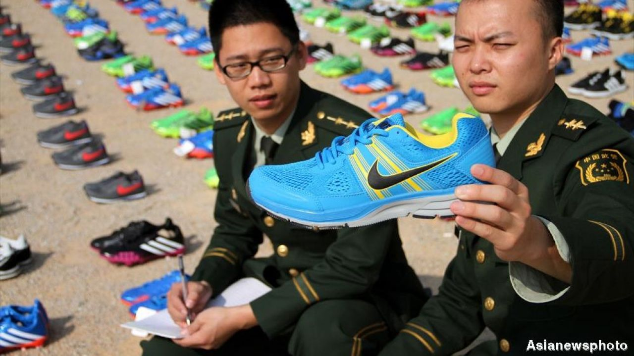 China is the world's biggest producer of fake goods, OECD