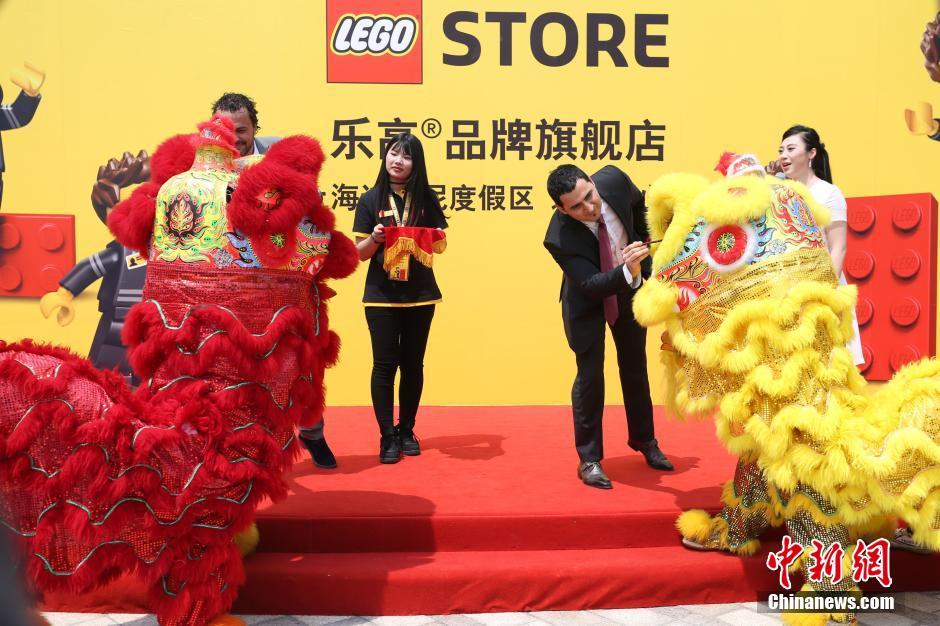 World's largest Lego store opens at Shanghai Disney Resort
