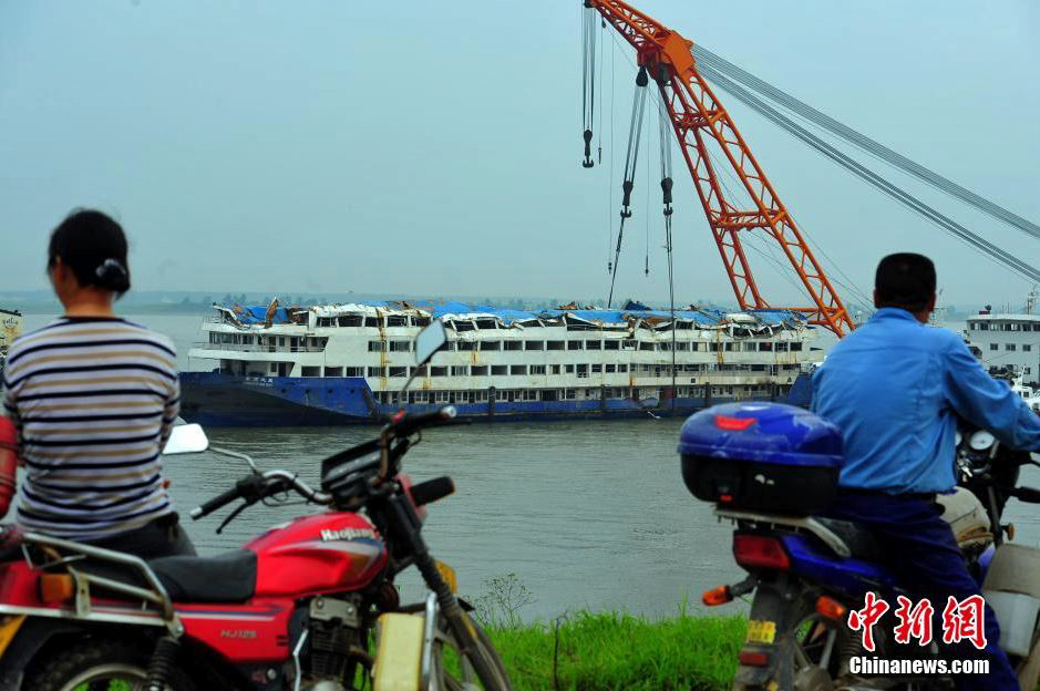 According to the Yangtze River Marine Bureau, the ship was unable to send a distress signal due to the speed with which it capsized.