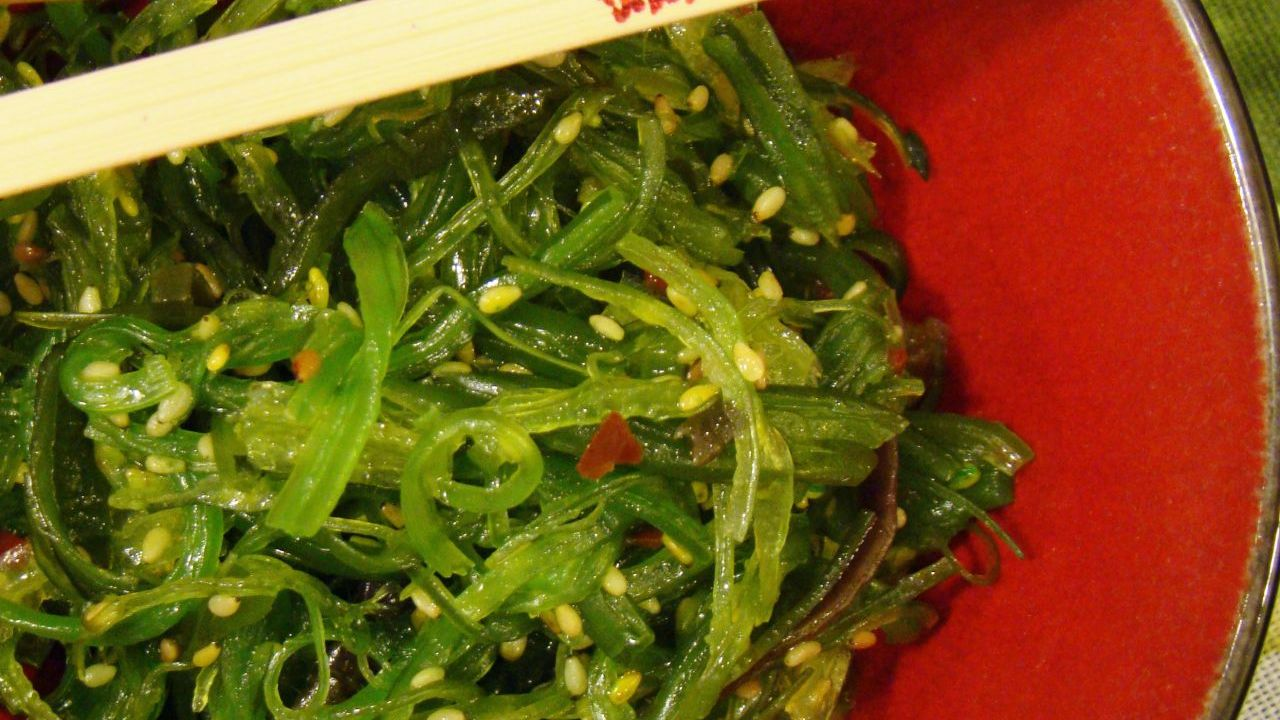 Seaweed salad is the perfect summer dish