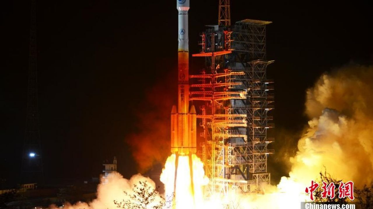 Long March 3C launches China's 23rd Beidou satellite