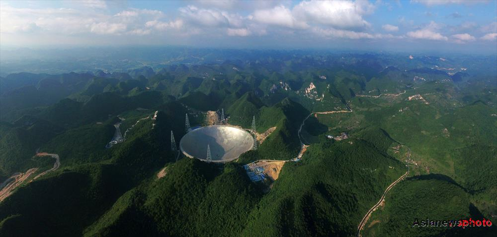 China's China's Five hundred meter Aperture Spherical Telescope, or