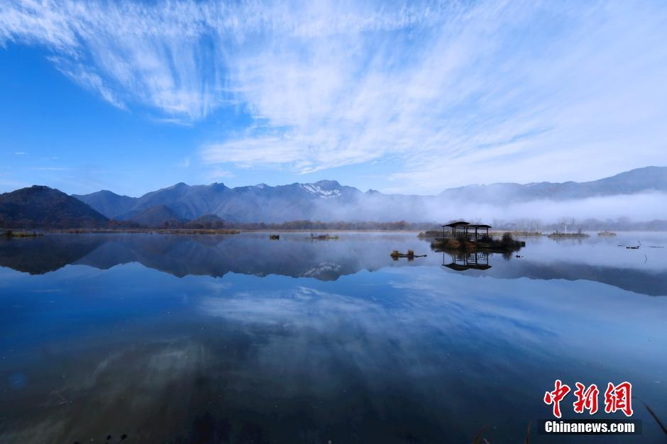 A stunning photo of Shennongjia National Wetland Park, recently added to the list of World Heritage Sites.
