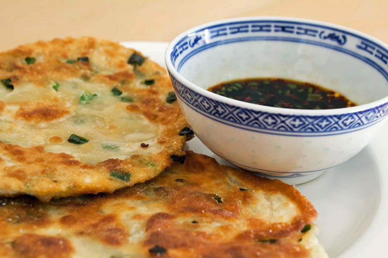 Chinese scallion pancakes are the ultimate beer snack