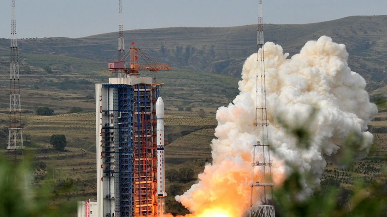 The first launch of the new Chinese rocket carrier Changzheng-7quot from the new Wenchang cosmodrome 83
