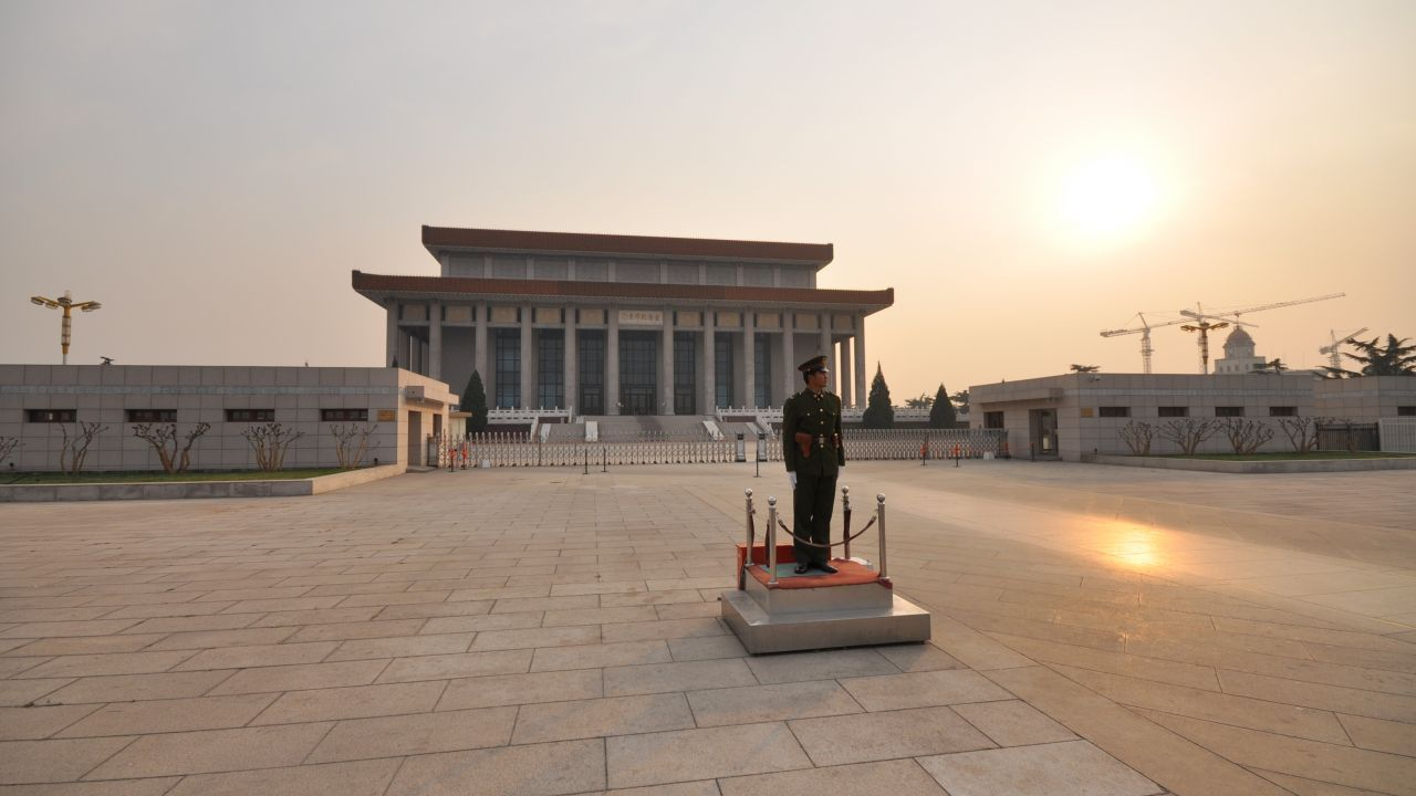 Visiting the Mausoleum of Mao Zedong