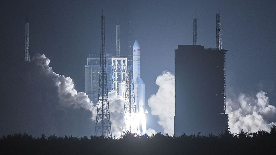 China's Long March 5 heavy-lift rocket set for crucial ...