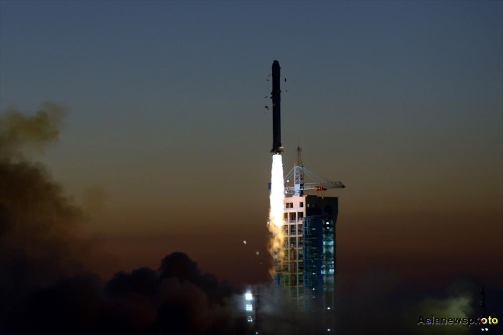China's DAMPE dark matter probe blasts off from Jiuquan Satellite Launch Centre in the Gobi Desert on December 17, 2015, heralding a new era of Chinese space science.