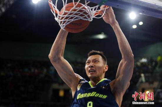 Yi Jianlian moves to 6th in CBA all-time points list