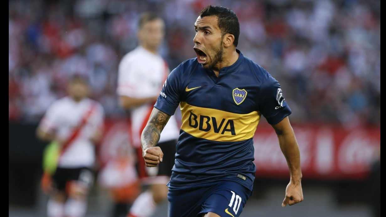 China s Shanghai Shenhua signs Carlos Tevez from Boca Juniors