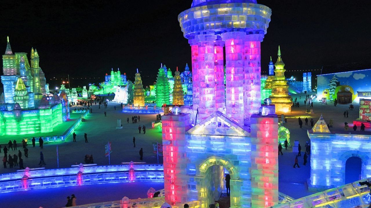 Magic of the Harbin Ice and Snow Festival