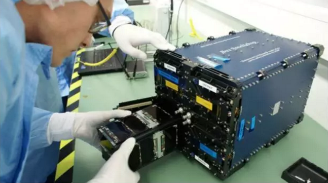 Chinese cubesat hitches ride on India's record-breaking