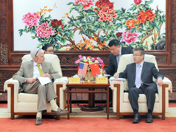 China's space agency hosts meeting with US embassy official