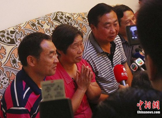 Liu Yang's parents try to remain calm ahead of launch.
