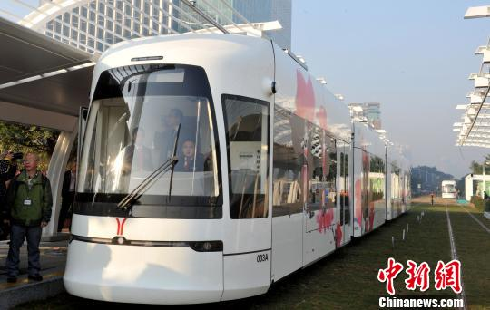 China's first water-emitting tram to run from 2018
