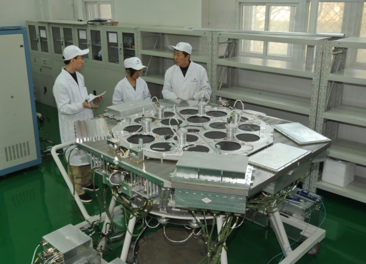 Testing the High Energy telescope (HE) on China's Hard X-ray Modulation Telescope (HXMT), aka Insight.