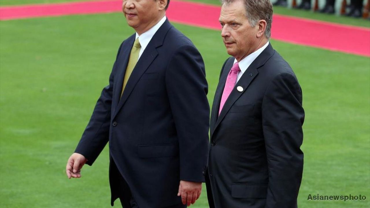 ​Finland, China ready to step up partnership