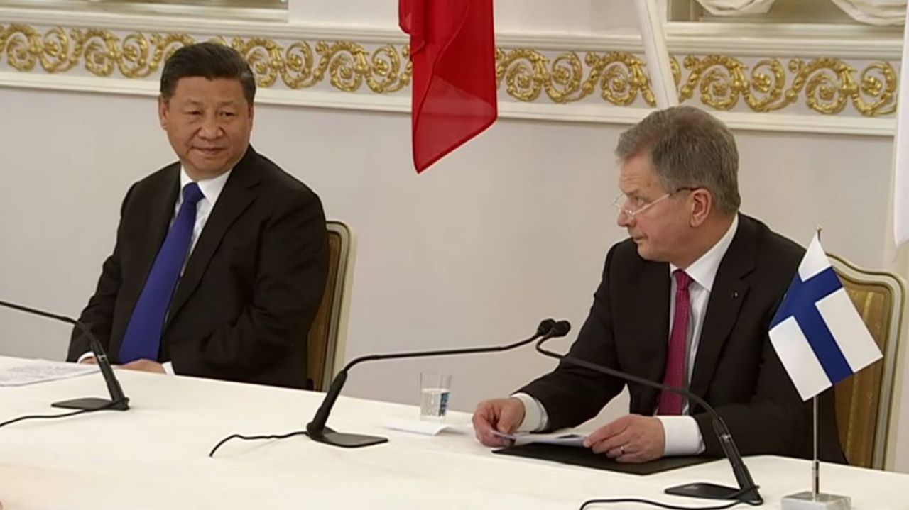 China and Finland sign host of bilateral deals during state visit