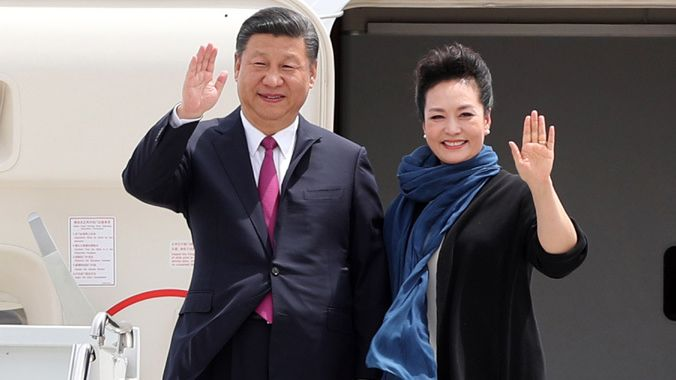 Chinese president Xi Jinping arrives in US for first meeting with Donald Trump