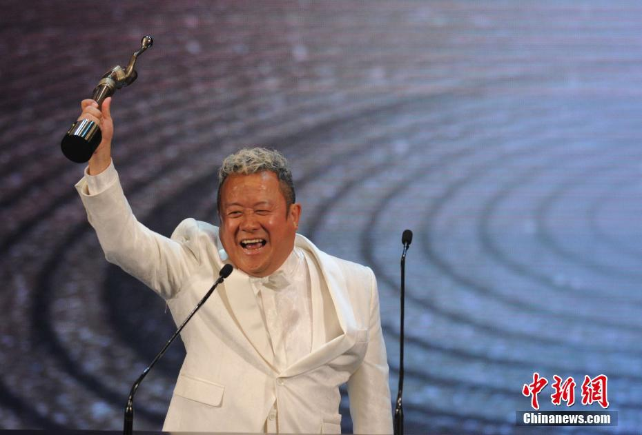 Eric Tsang won Best Supporting Actor with his great performance in the film Mad World.