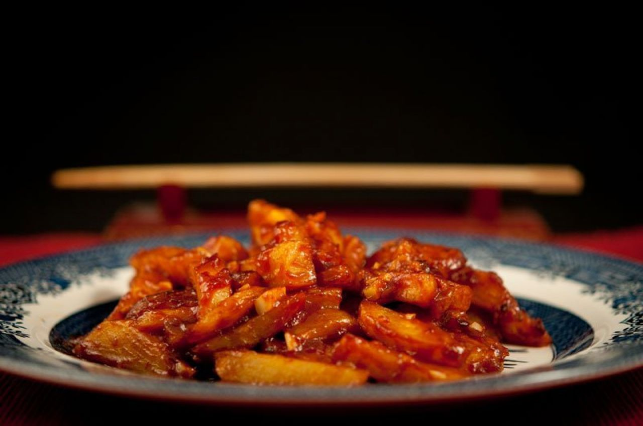 Red Hot Chili Potatoes – Chinese style fries