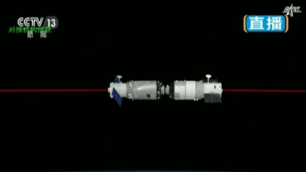 Tianzhou-1 completes first Tiangong-2 refuelling, clearing way to space station