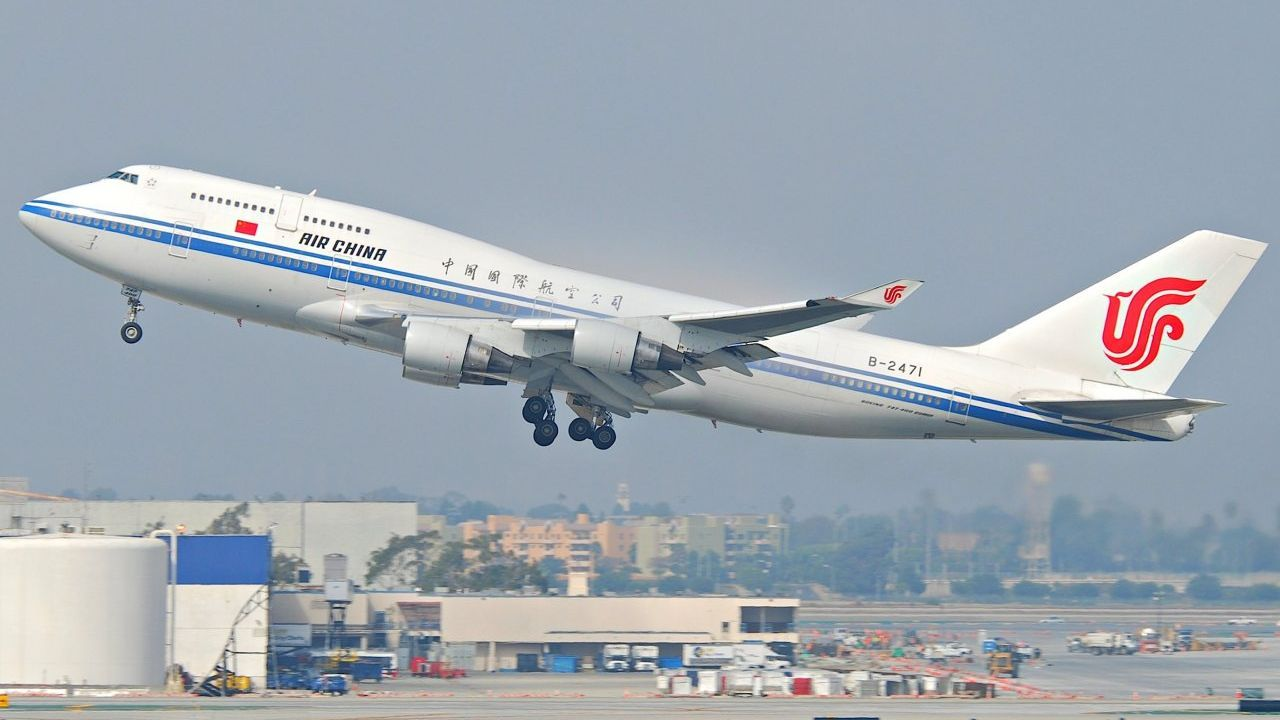 The development of China's aviation industry