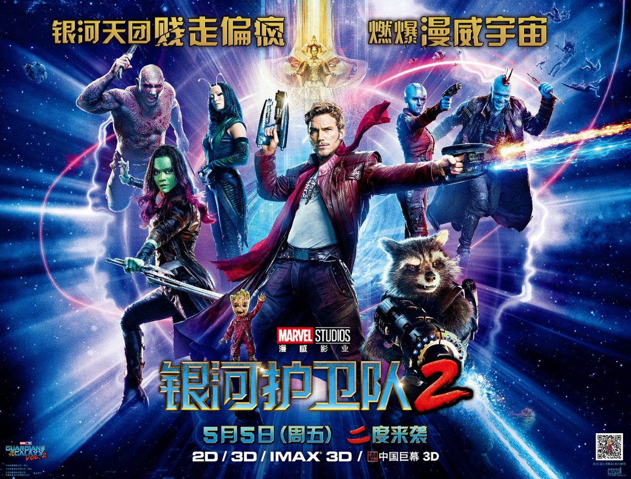 Guardians of the Galaxy Vol. 2 a hit in China
