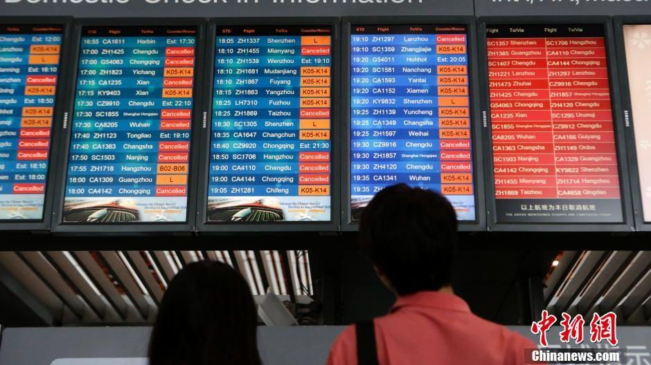 Chinese airlines see improvement on punctuality
