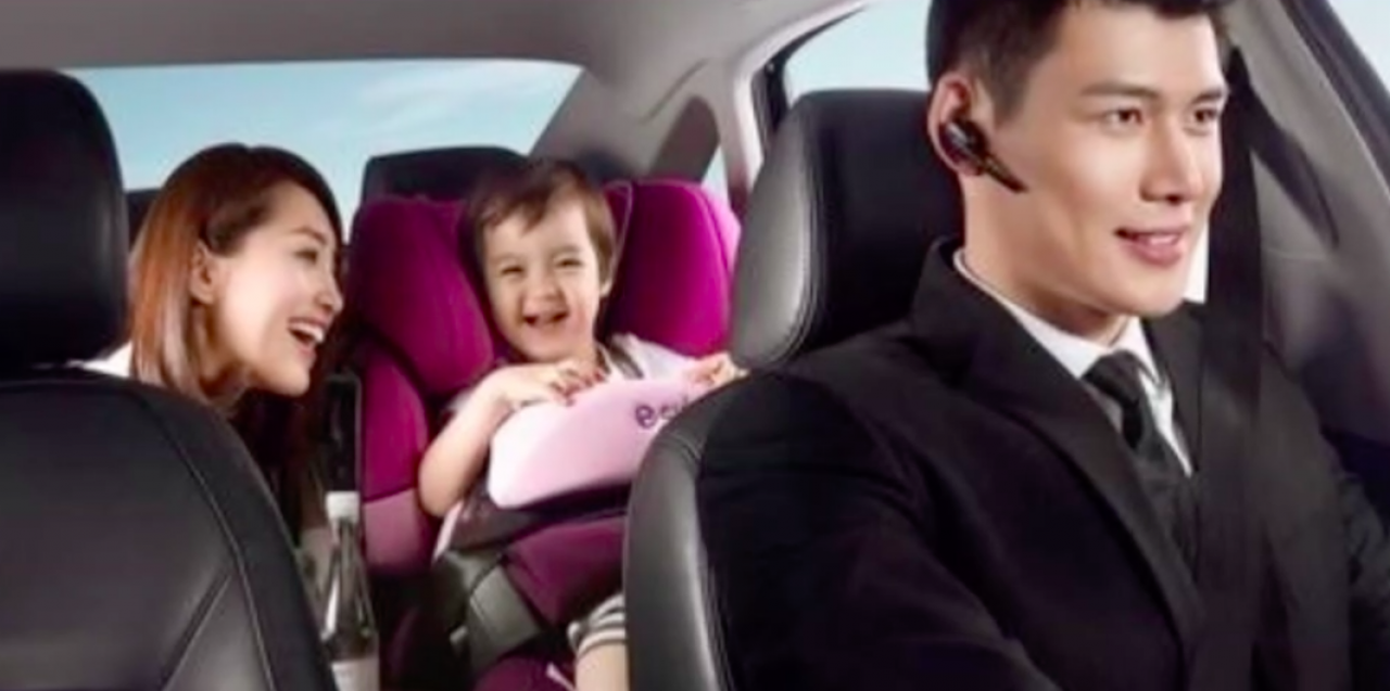 Didi Chuxing offers car seats for children