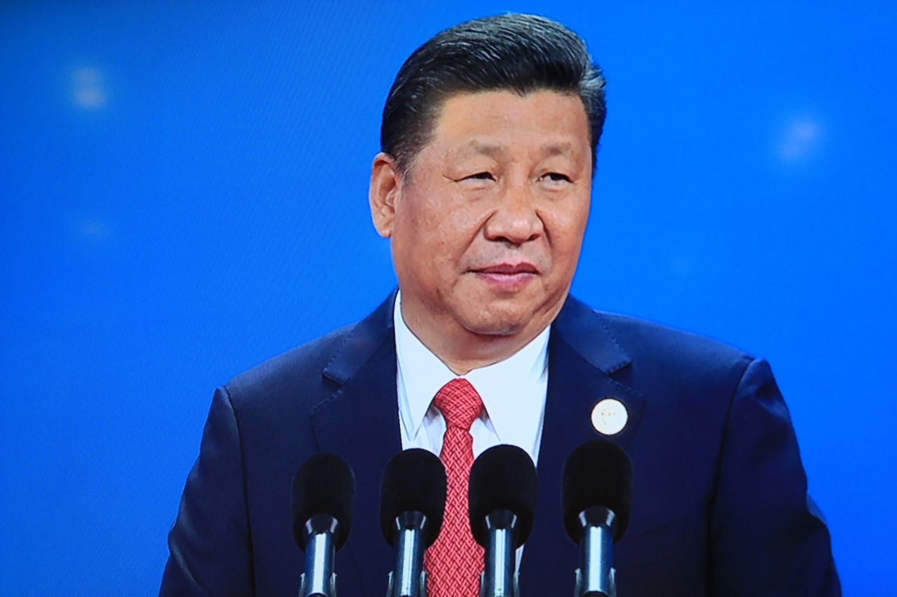 China's Xi opens first major summit on New Silk Road