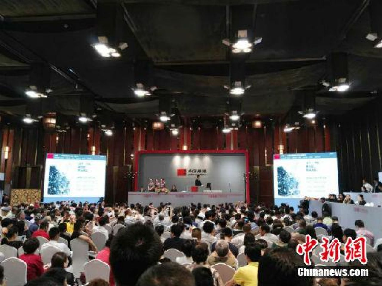 Traditional Chinese landscape painting sold at $50 million