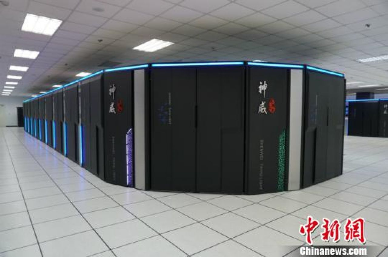 China has the fastest supercomputers in the world