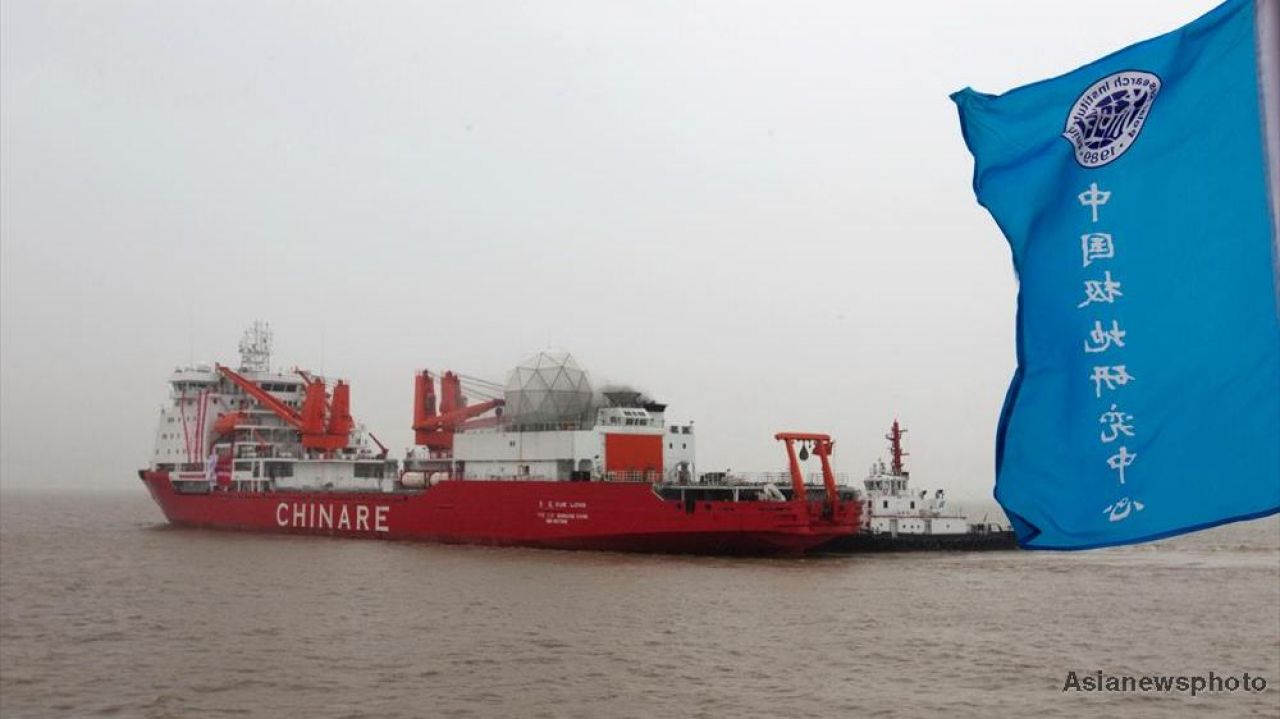China adds Arctic sea route to its Silk Road plan