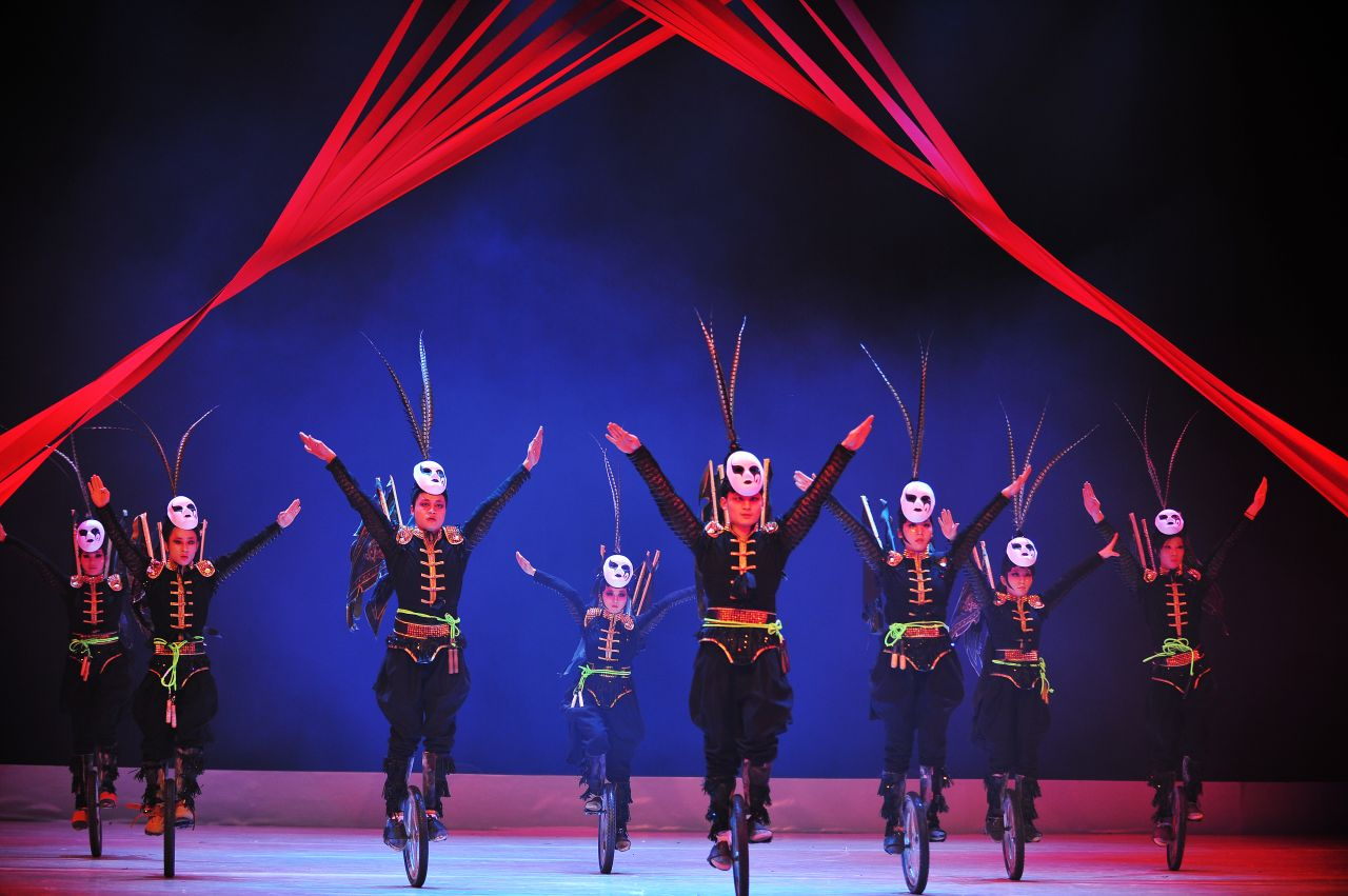 The internationally-renowned Chinese acrobatic theatre troupe will perform in Helsinki, marking their long-awaited Nordic debut.