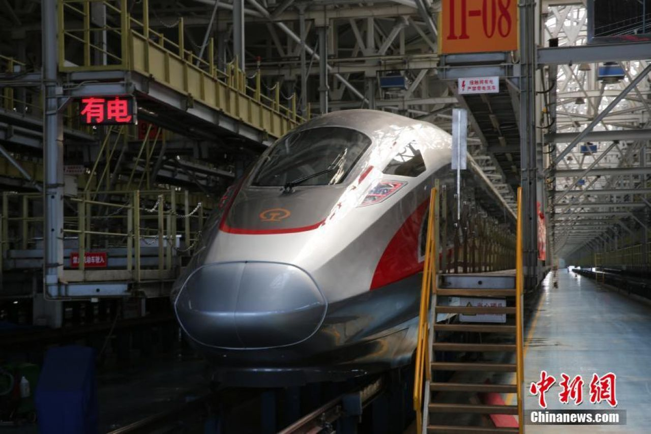 China launches upgraded high-speed trains, with Wi-Fi