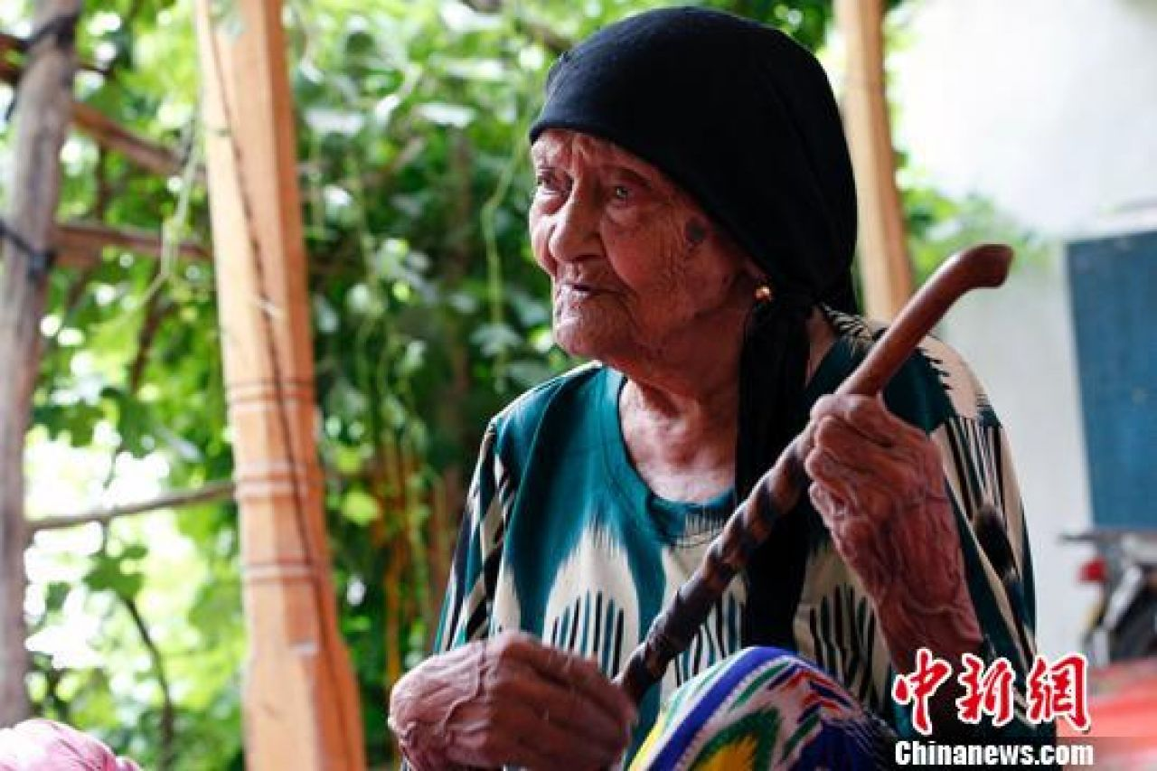 China's oldest person celebrates her 131st birthday