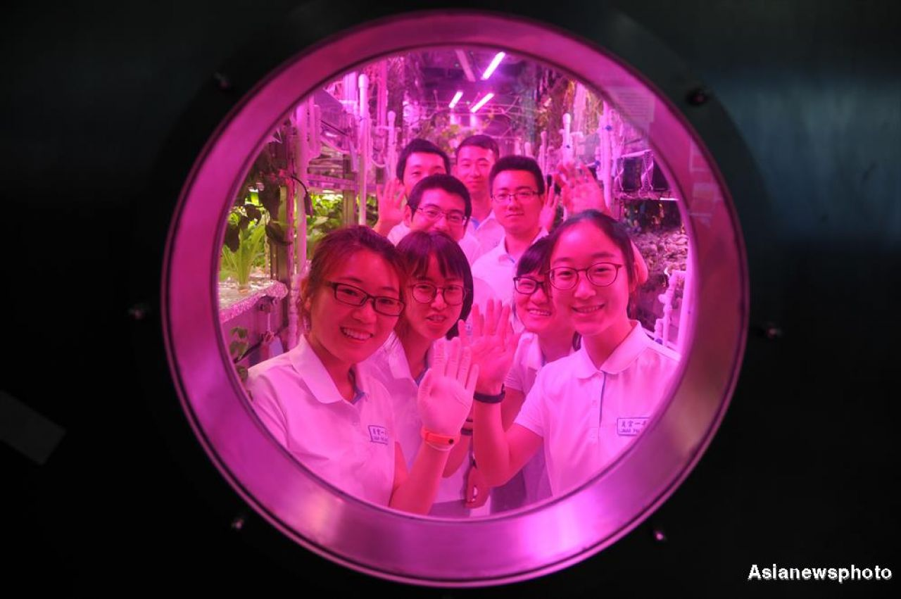 Lunar Palace: Chinese Moon base simulation experiment receives second student group