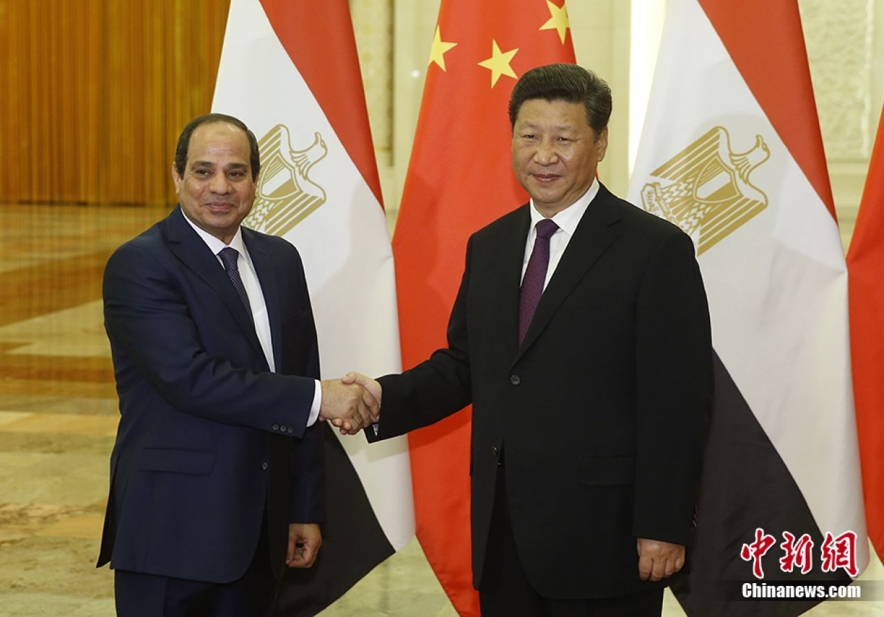 Chinese imports from Egypt grow despite decreased trade volume