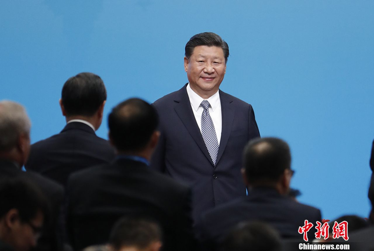 """China's Xi calls for """"making pie of global economy bigger"""""""