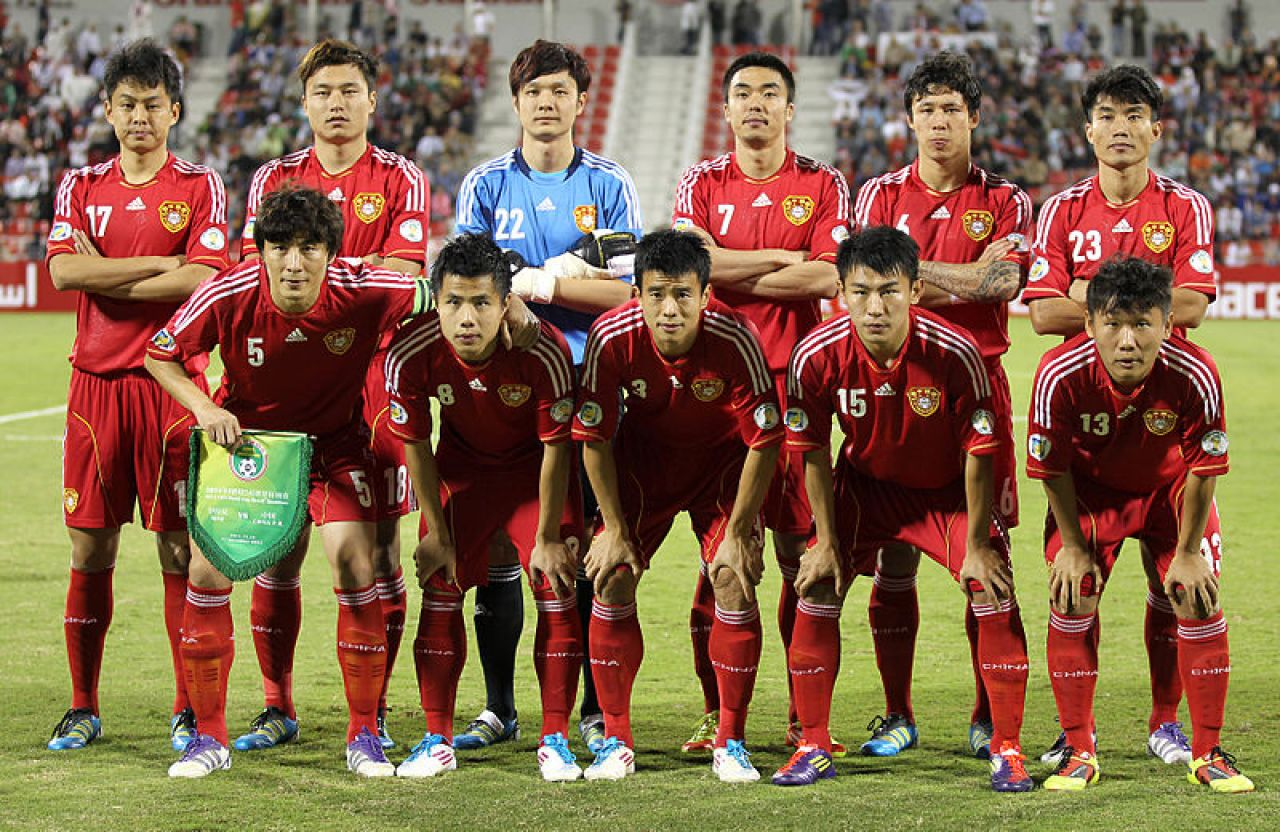 The Chinese national football team rose to a high of 60th in the world under Marcello Lippi.