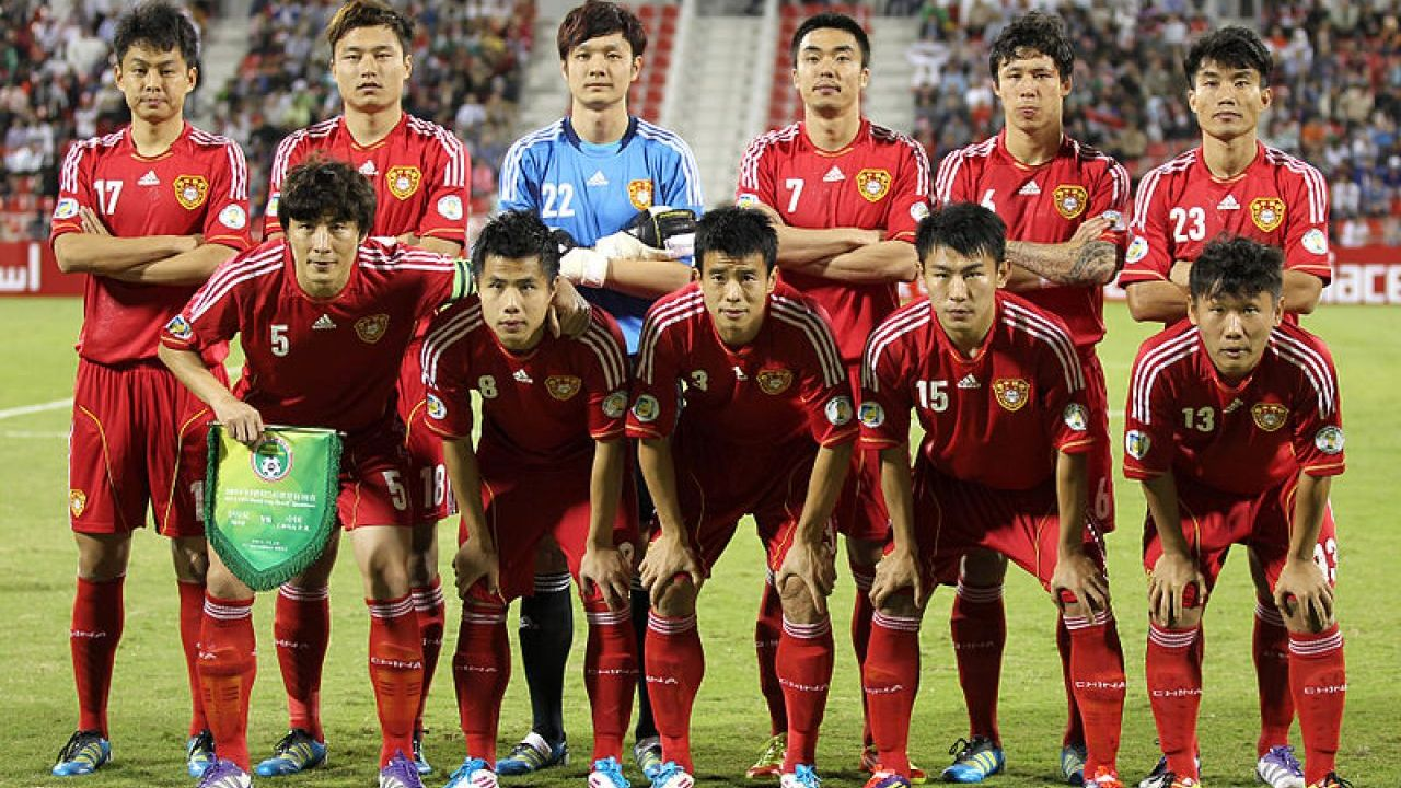 China up to 62nd in FIFA World Rankings