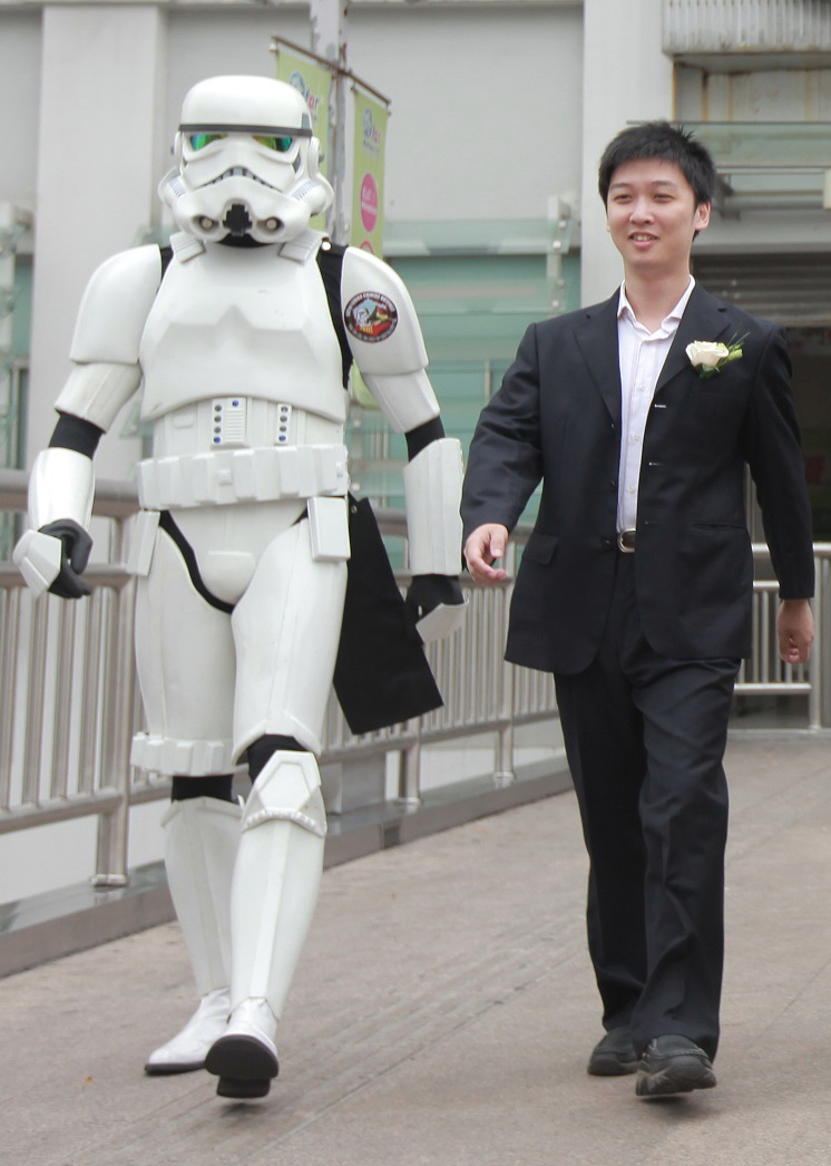Chen Tao, webmaster of StarWarsChina.com, one of the largest Chinese Star Wars fans website.