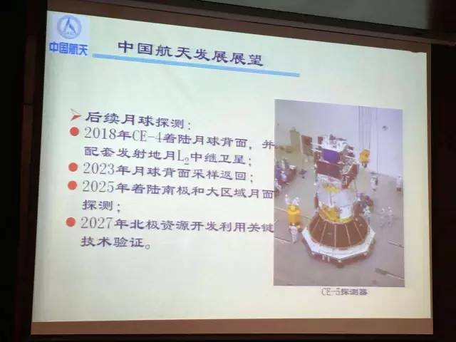 Outline of proposed Chinese lunar exploration, in presentation by Long Lehao of the Chinese Academy of Launch Vehicle Technology (CALT).
