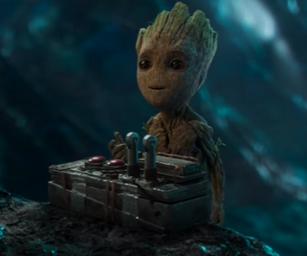 Groot from GOTG2. (Photo: YouTube)